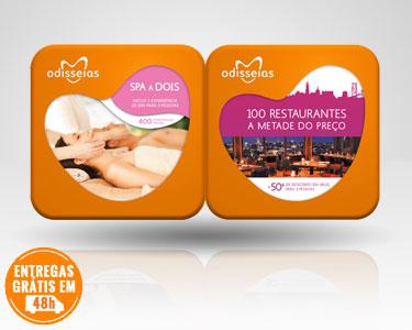 2 Presentes: SPA a Dois + Gourmet