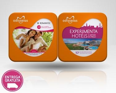 2 Presentes a Dois - Be Romantic + Experimenta Hotéis