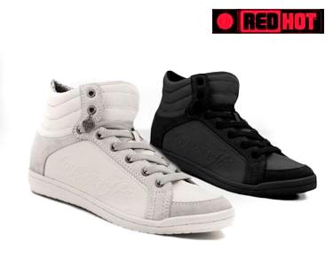 Ténis RedHot® - Branco ou Preto