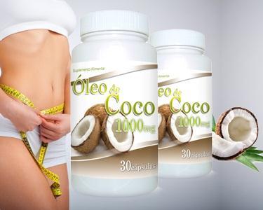 Saúde & Boa Forma com Óleo de Coco | 60 ou 120 Cápsulas