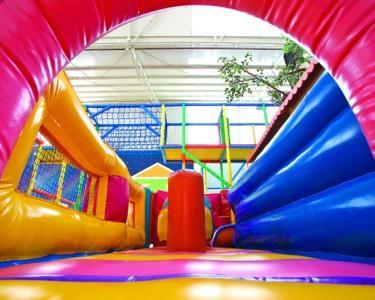 Hubi Park | Festa até 15 crianças: Saco Doces +Pizza +Pipocas +Mousse
