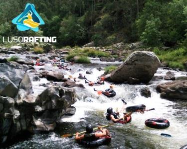 Batismo de Rafting ou Micro-Rafting no rio Paiva