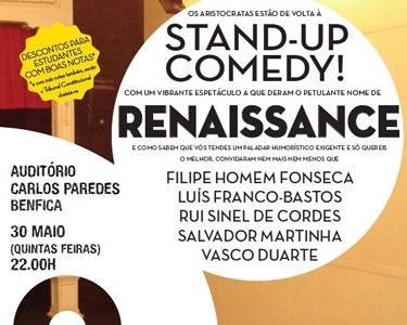 Bilhete Duplo para Renaissance | Stand-Up Comedy
