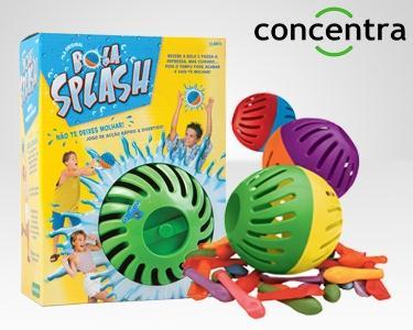 Bola Splash Concentra® | Escolha 1 ou 2 Unidades