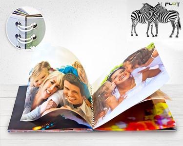 Foto-Livro 15 x 20 com 48 Páginas