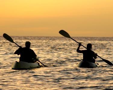 Romance em Kayak - 2 Horas