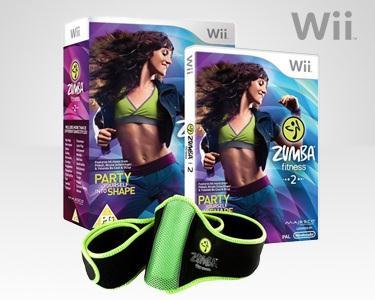Jogo para a Wii - Zumba Fitness 2