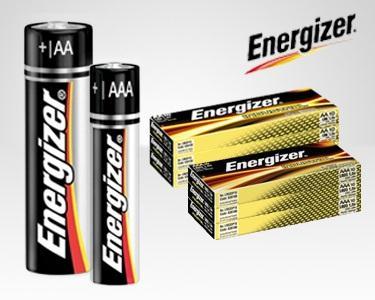 PILHAS Energizer® ALCALINA  AA ou AAA - 20 ou 40 Unidades