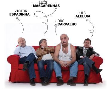 Comédia - A Curva da Felicidade   Teatro Armando Cortez