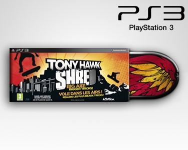 Jogo Tony Hawk Shred - PS3