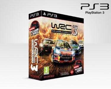 Jogo WRC3 + VOLANTE - PS3