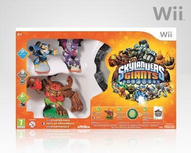 SKYLANDERS GIANTS: Wii ou PS3
