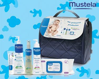 Bolsa Mustela® | Os Primeiros Produtos do Seu Bebé!