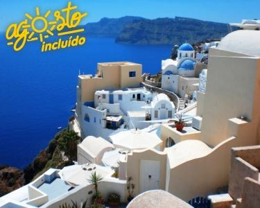 Creta - Férias em Agosto e Setembro - 7 Nts C/Voo