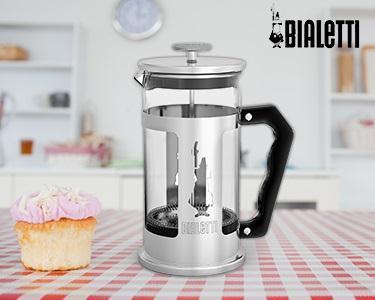 Cafeteira para Chá & Café | French Press Bialetti