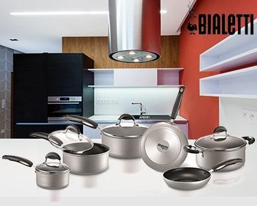 Trem de Cozinha | 10 Peças Silver Style Bialetti