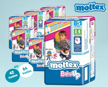 42 ou 84 Fraldas Moltex Baby Up T5 | 9-16 KG