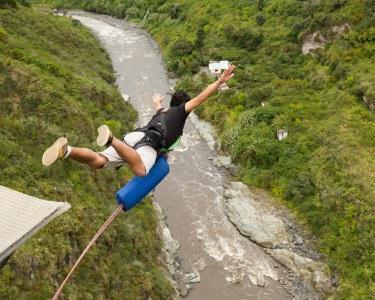 Acrescente Adrenalina à sua Vida! 1 ou 2 Saltos Pendulares | Aventuresca
