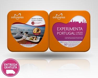 2 Presentes: Jantar Gourmet a dois + Experimenta Portugal