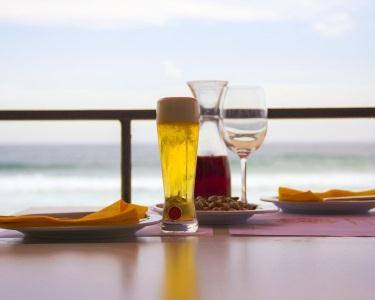 Caracóis à Discrição c/ Bebidas & Entradas no Mar Alto
