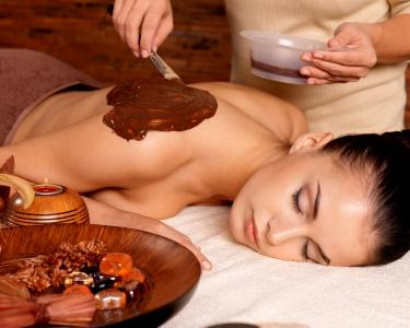 2 Massagens Relax de Chocolate Total