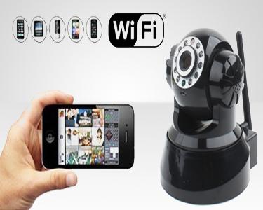 Câmara de videovigilância IP - WI-FI