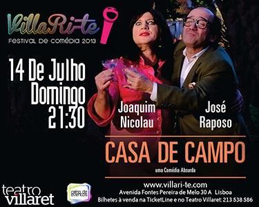A Casa de Campo - Comédia no Villaret