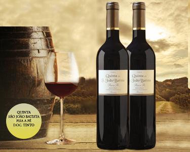 1 ou 2 Garrafas de Vinho | Quinta de São João Batista