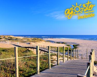 Casa Branca Beach & Golf Hotel 4* | Noite & SPA à Beira-Mar
