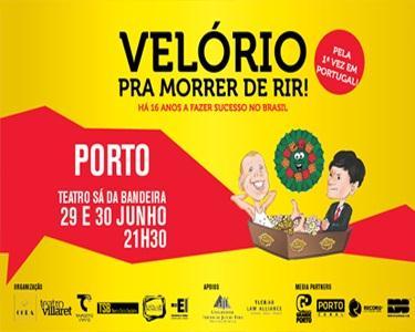 Velório Pra Morrer de Rir - Teatro Sá da Bandeira