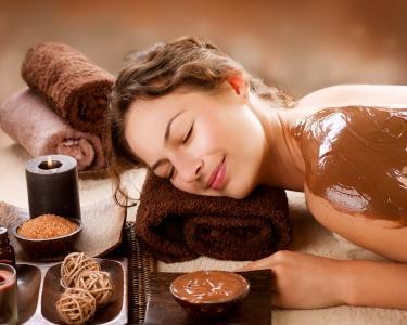 Pack Chocoterapia 50m - Massagem | Exfoliação | Envolvimento