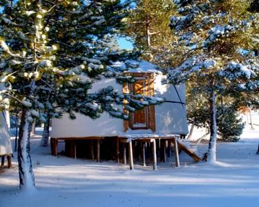 Uma Noite em Yurt no Vale do Rossim Eco Resort | Serra da Estrela