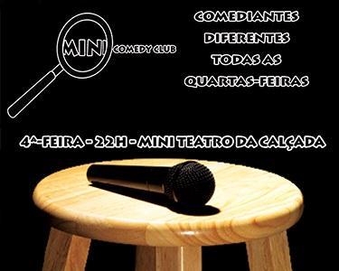 Mini Comedy Club no Bairro Alto