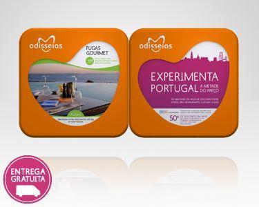 2 Presentes: Fugas Gourmet + Experimenta Portugal