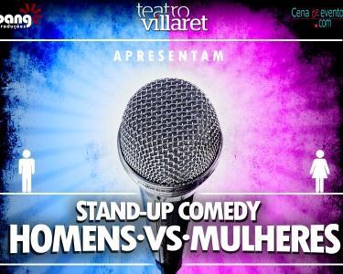 Homens VS Mulheres - 26 de julho | Teatro Villaret
