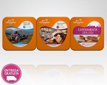 3 Presentes: Gourmet + Aventura + SPA
