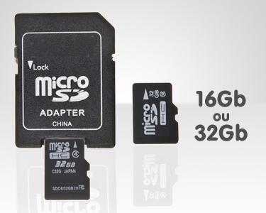 Cartão de Memória Micro SD com Adaptador | Escolha 16GB ou 32GB