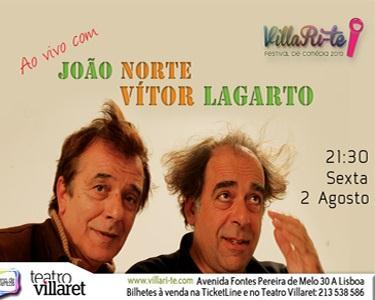 Ao Vivo com João Lagarto & Vitor Norte no Villaret