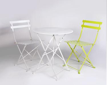 Pack de Exterior | 2 Cadeiras + Mesa