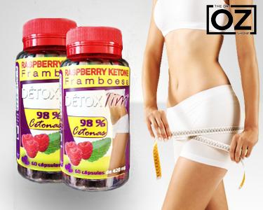 Dieta Dr. Oz | Raspberry Ketone em Cápsulas