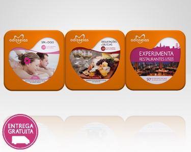 3 Presentes: Spa a 2 + Degustações + Experimenta Restaurantes