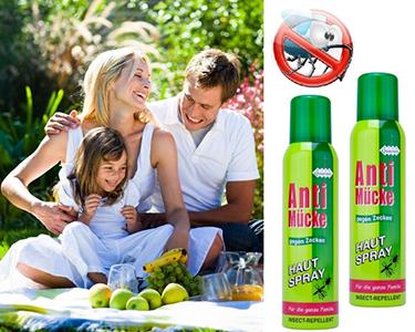 Pack 2 Sprays Anti-mosquitos