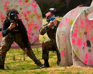 Paintball for Fun - 130 Bolas Coloridas | 3 Horas