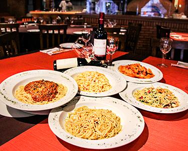 Degustação de 5 Especialidades de Pastas   Pizzaria Costini