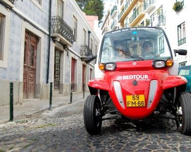 Passeio de Buggy 4 Pessoas em Lisboa | Red Tour