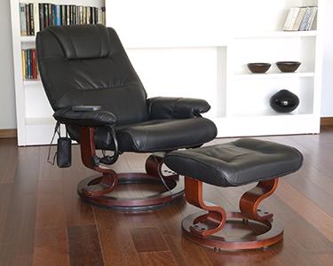 Poltrona de Massagens & Apoio para Pés | Spa em Sua Casa