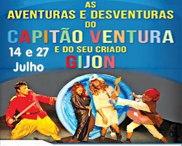 As Aventuras do Capitão Ventura - Teatro Infantil