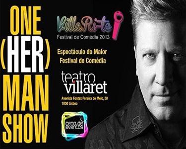 One Herman Show no Teatro Villaret