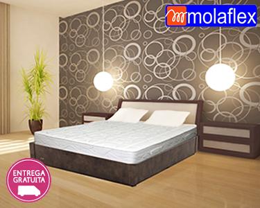 Molaflex | Colchão Viscoelástico + Base Rebatível + Almofadas