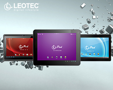 Tablet Leotec 7'', 8'' ou 10,1'' | Wireless e Android